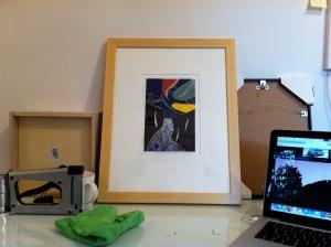 Framed Arnold Shives