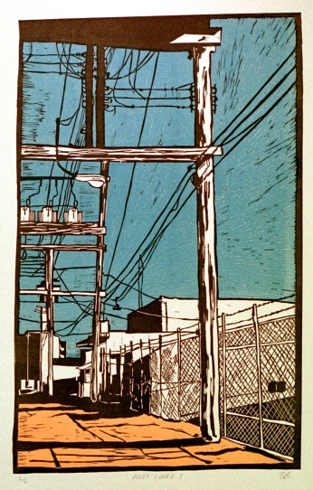 Alley Lines, 2007 12x19 inches.jpg